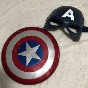 Boys Captain Marvel Accessories